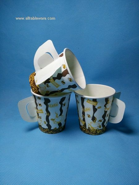 6oz paper cup with handle