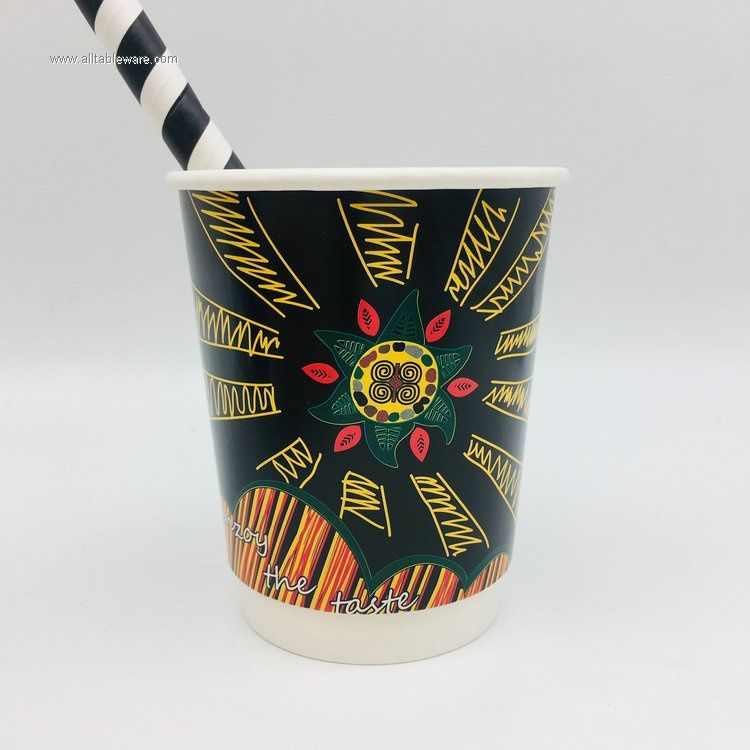 500ML Biodegradable Paper Cup for Tea/Coffee/Milk