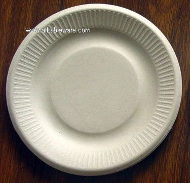 7inch biodegradable sugarcane bagasse plate