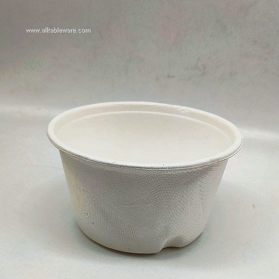 350ml Sugarcane Biodegradable Paper Pulp Cup