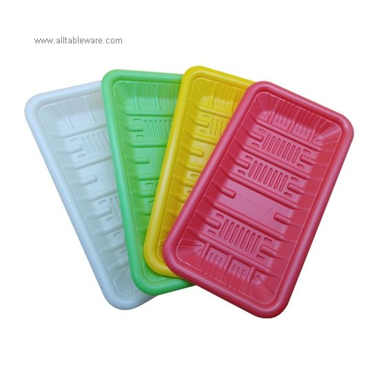 Safety Food Grade Disposable Biodegradable PLA Food Tray