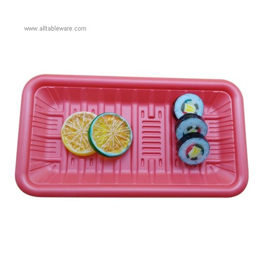 Top Quality Biodegradable Frozen Food Packaging PLA Plastic Trays
