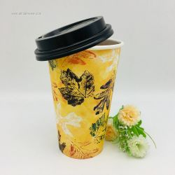 Wholesale Disposable Single Wall Insulated Hot Coffee Paper Cups