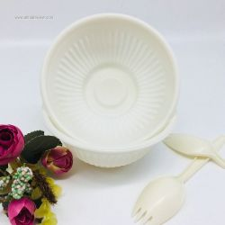 300ml Eco-Friendly 100% Biodegradable Corn Starch Salad Bowl