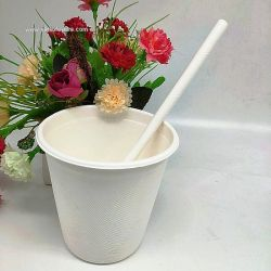 370ml Bagasse Sugarcane Disposable Cups Factory