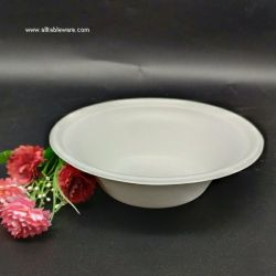 1000ml 35oz Compostable Bagasse Food Bowl