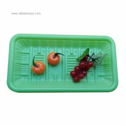 Wholesale Disposable Tableware Biodegradable Serving Food Ecofriendly PLA Tray