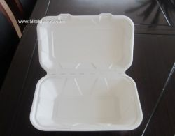 900ml sugarcane bagasse clamshess