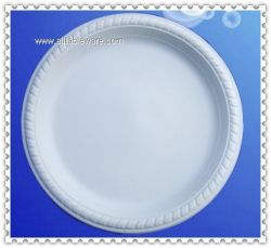 6inch biodegradable cornstarch plate